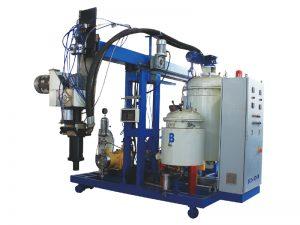 machine d'injection de mousse de polyuréthane d'isolation de basse pression d'unité centrale pour des chaussures et des sièges d'unité centrale