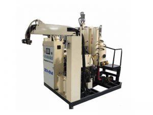 machine de moulage en élastomère de polyuréthane de mousse de température moyenne d'unité centrale pour la roue de valise