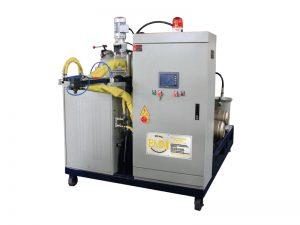 Machine de coulée en élastomère de polyuréthane