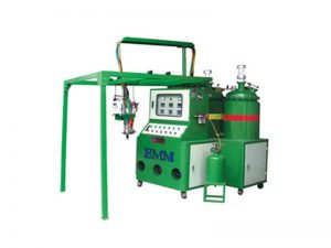 Machine à mousse de polyuréthane pour le couvercle du filtre