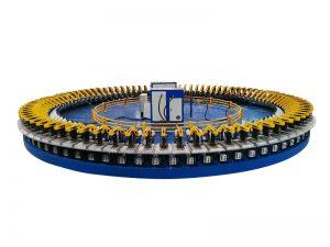 chaîne de production de moule de disque d'équipement de mousse de polyuréthane de rendement élevé de haute précision