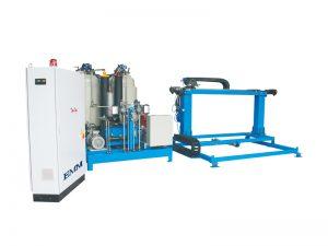 machine de production de mousse de polyuréthane à haute pression continue automatique, panneaux de panneau de mur d'isolation de mousse de pu faisant la machine