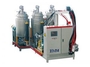 machine à mousse haute pression bicolore et densité