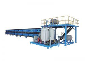 ligne de production continue de moulage de panneau de polyuréthane